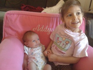 Big Sister Addy & Little Brother Owen
