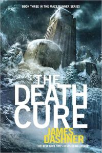 The Death Cure - third/final book in the Maze Runner series
