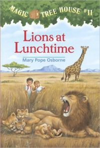 Lions at Lunchtime (Magic Tree House #10)