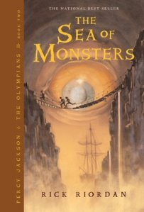 The Sea of Monsters (2nd book in the Percy Jackson and the Olympians series)