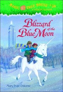 Blizzard of the Blue Moon (Magic Tree House book #36)