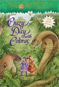 A Crazy Day with Cobras by Mary Pope Osborne (Magic Tree House #45)