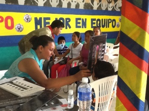 Public Eye Clinic at the church