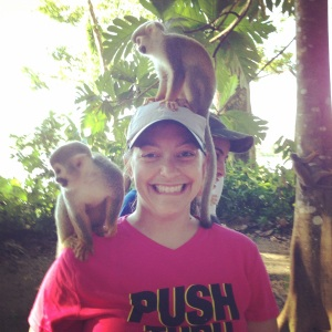 Me and the monkeys